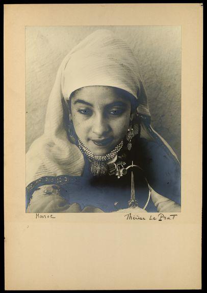 Maroc [Portrait d'une jeune fille]