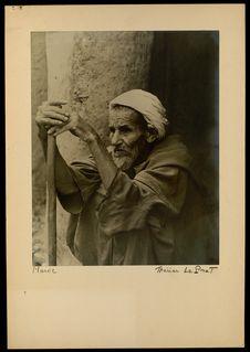 Maroc [Portrait d'homme agé]
