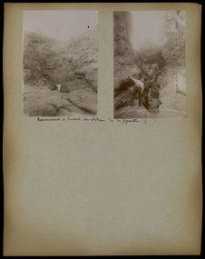 Ravinements et torrents du plateau de la Giganta