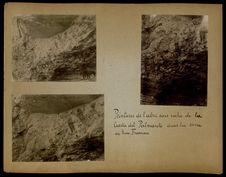 Peintures de l'abri sous roche de la Cuesta del Palmarito