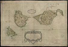 Carte des isles de Saint-Pierre et Saint-Miquelon