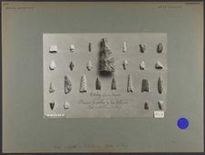 Lodéiky, Gouvt d'Iénisséi : dunes de sable de la Sibérie [Outils lithiques]
