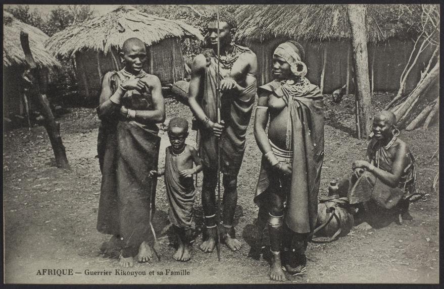 Guerrier Kikouyou et sa famille