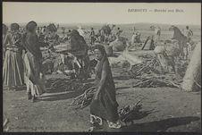Djibouti - Marché aux bois