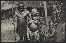 Guinée, Guerrier et sa femme