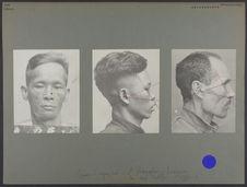 Chine (région sud) : hommes photographiés à Singapour