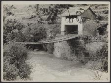 Pont de chaînes de fer