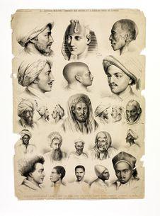 Les égyptiens modernes, comparés aux anciens et à plusieurs races de l'Afrique