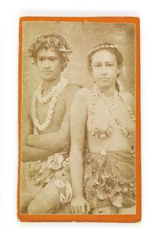 Sans titre [portrait d'une jeune femme et d'un jeune homme]