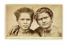 Indigènes de Rorotonga [Rarotonga]