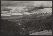 Chaîne de montagnes près de Taining