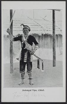 Solongai Tipo, Chief [portrait]