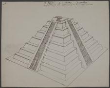Reconstitution de la pyramide