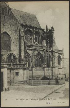 L'Abside de l'Eglise de la Trinité