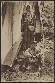 Scènes et types des Pyrénées. Bohémiens