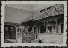 Bucarest. Maison paysanne. Musée Ethnographique