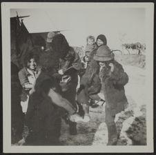 Tribu de Tziganes près de Porumbac