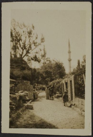 Une rue d'Eyoub