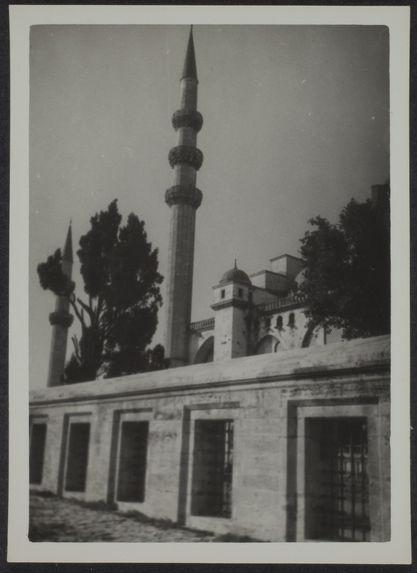Istambul. Extérieurs de Suleymaniye Cami