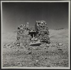 Palmyre. Vallée des tombeaux. Un tombeau