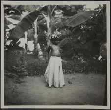 Pondichéry. Petite fille