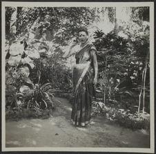 Pondichéry. Femme élégante