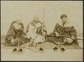 Algériens Marabouts et chefs de l'Andjera