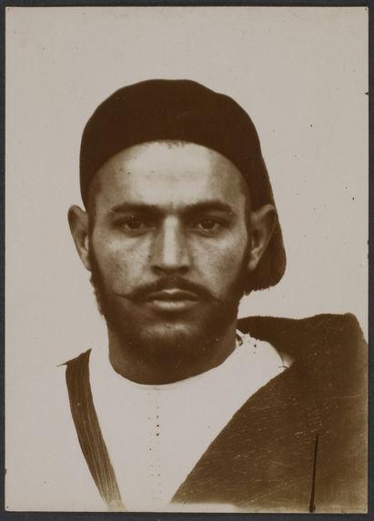 Homme de Tanger d'origine rifaine