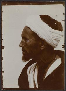 Mohammed, homme de Tanger, très probablement d'origine arabe