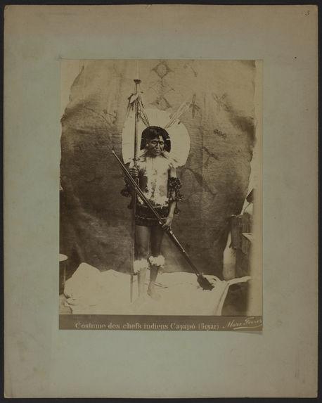 Costume des chefs indiens Cayapo (Goyaz)