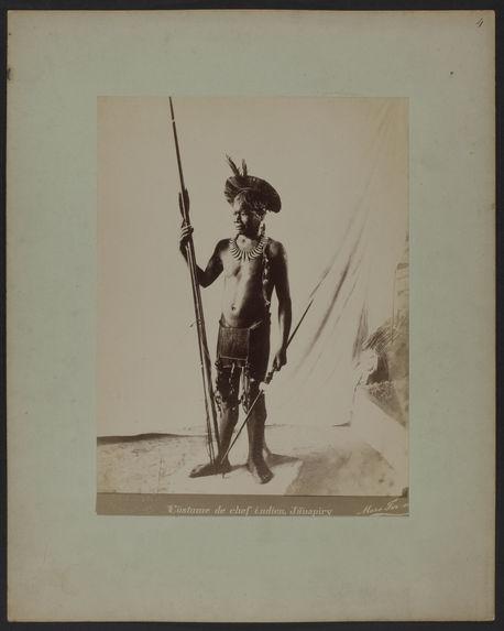 Costume de chef indien Jauapiry