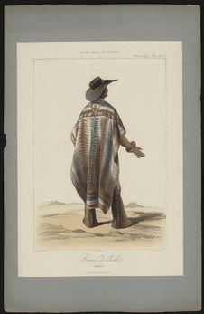 Homme de Puebla (Mexique)