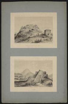 Restes d'un ancien village indien près de Quiaca, province de Carabaya (Pérou)....