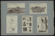 Armas encontradas en Teotihuacan [silex taillés]