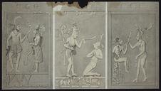 Sans titre [Bas-relief du temple de Palenque]