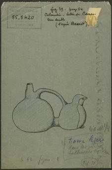 Fig. 39. Colombie. Vallée du Cauca. Vase double