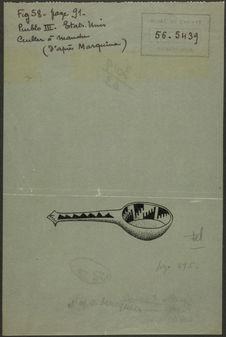 Fig. 58. Pueblo III. Etats-Unis. Cuiller à manche