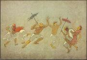 Frevo [six personnes dansant]