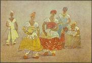 As Filhas dos Santos [cinq femmes et une fillette]