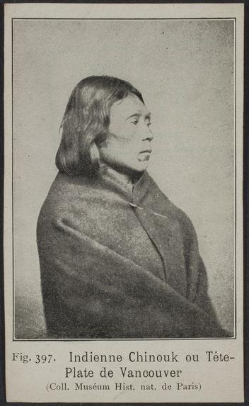Indienne Chinouk ou Tête-Plate de Vancouver