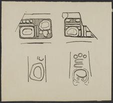 Sans titre [hiéroglyphes du vase n° 87.101.54 du MH]