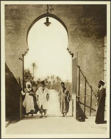 Maroc, El Maiz. Anciens élèves