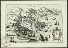 Chios [reproduction d'une gravure]