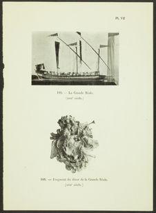 La Grande Réale. Tableau d'arrière de carrosse de galère (XVIIe siècle)