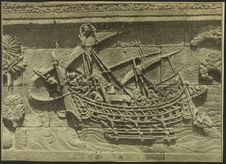 Sans titre [bas-relief représentant un navire à balancier]