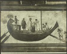 Un bastimento sotto carico ; affresco trovato ad Ostia [fresque]