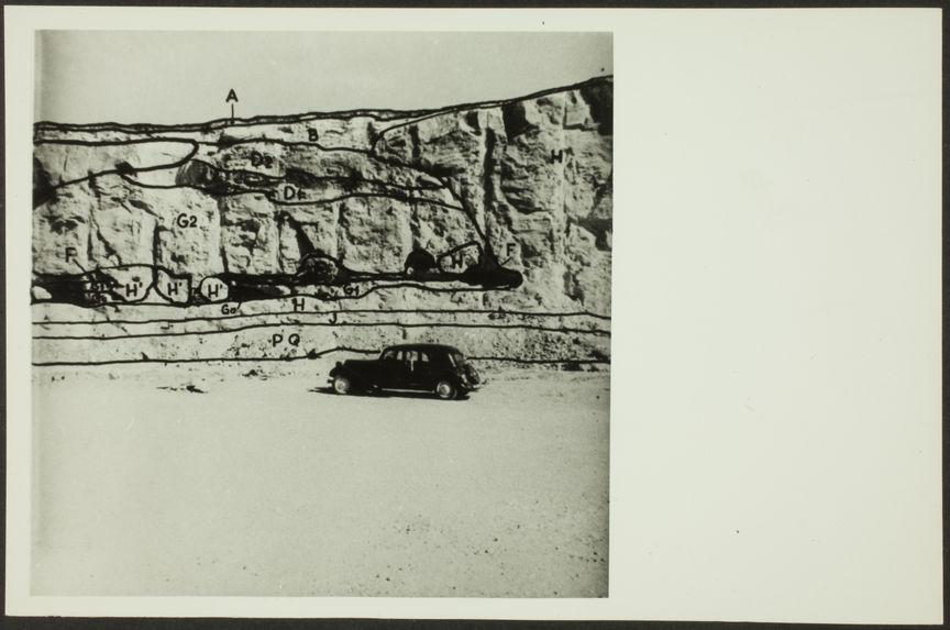 Le front sud-est de la Cuvette de Sidi Abderrahman au 20 mars 1955