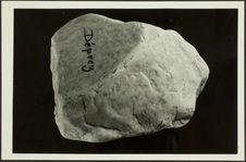 Pebble-tool. Pebble-Culture ancienne. Carrière Déprez