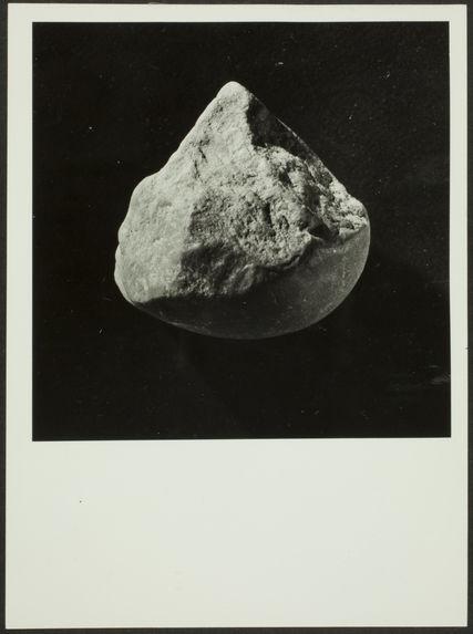 Souk el Arba. Galet piriforme à taille sub-pyramidale. Salétien du Rharb