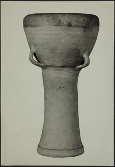 Irak. Tambour en poterie